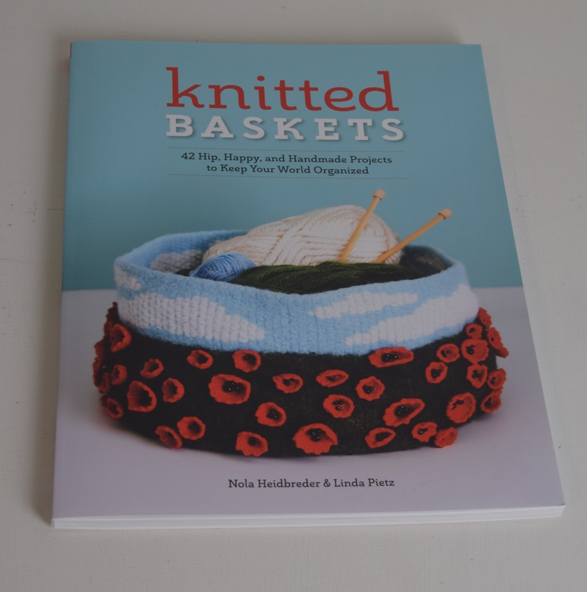 knitted baskets book